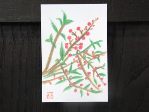 絵手紙 ~ F様の新作 ~_e0222340_1523545.jpg