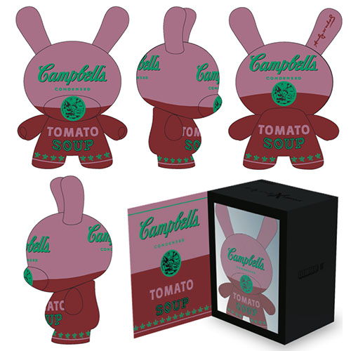 """Warhol 8\"""" Dunny Masterpiece-Campbell's Soup_e0118156_1652937.jpg"""