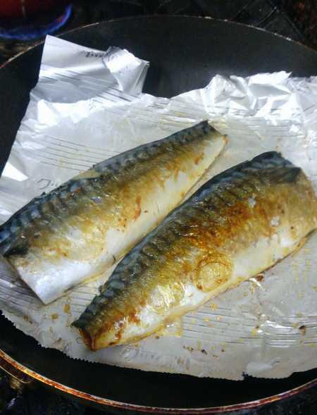 塩焼き 鯖 フライパン の