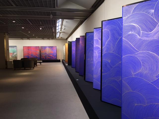 日本画家の奇才『石踊達哉展』へ@日本橋三越_a0138976_17203312.jpg