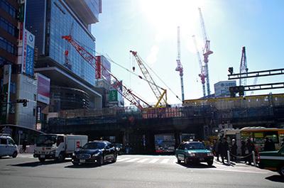 1月13日(金)今日の渋谷109前交差点_b0056983_12085474.jpg