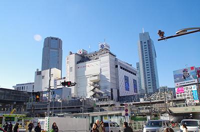 1月13日(金)今日の渋谷109前交差点_b0056983_12085476.jpg