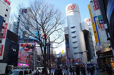 1月13日(金)今日の渋谷109前交差点_b0056983_12085552.jpg