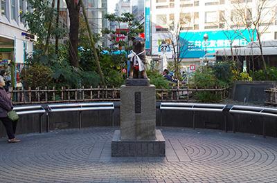1月13日(金)今日の渋谷109前交差点_b0056983_12085562.jpg