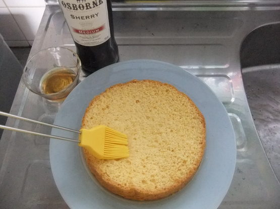 <イギリス菓子・レシピ> ティプシー・ケーキ【Tipsy Cake】_e0038047_1404525.jpg