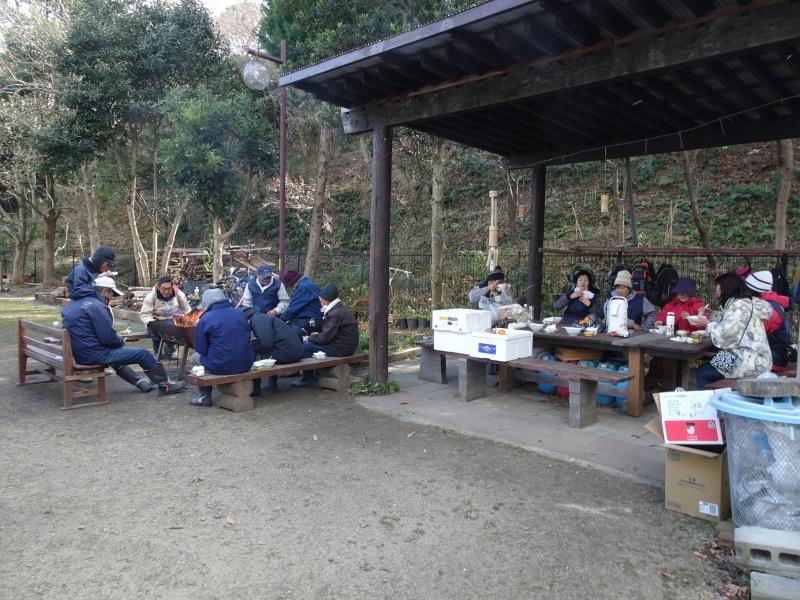 寒風の中「とんど」は燃えた!・・・せんなん里海公園  by  (TATE-misaki)_c0108460_21323281.jpg