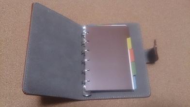 システム手帳を買う 『ダイソー』システム手帳(ミニ6穴)_c0364960_07465869.jpg