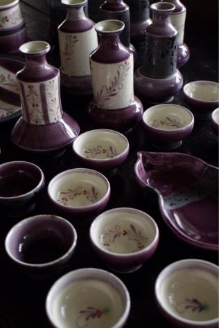 紫のうつわたち  お酒のお供に!_c0176406_21344707.jpg