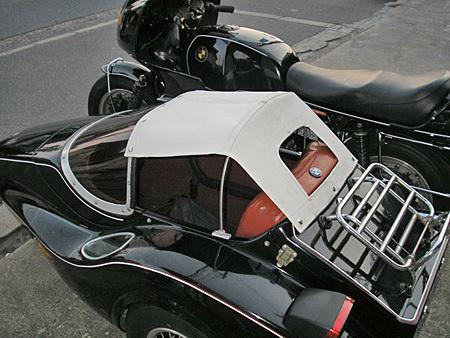 お勧めのサイドカー BMW R100RS+クマガヤ(黒)_e0218639_21392612.jpg