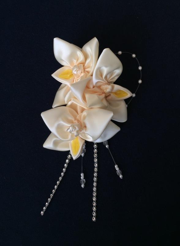 Orchid Elegant Corsage オーキッド エレガント コサージュ_c0196240_04545647.jpg