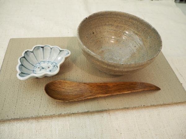 村木雄児さんの飯茶碗で_b0132442_15560489.jpg