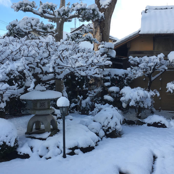 久しぶりの積雪となりました ε-(´∀`; )_f0349583_10550511.jpg