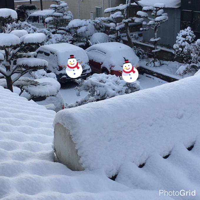 久しぶりの積雪となりました ε-(´∀`; )_f0349583_12175991.jpg