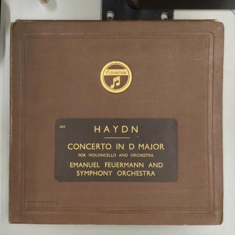 1月 新着レコードご紹介 フォイアマンのハイドン協奏曲_a0047010_17372862.jpg