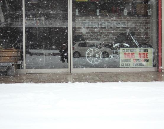 大寒波到来 雪遊び!この寒さアウター特集!!_e0297245_17443083.jpg