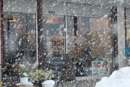 大寒波到来 雪遊び!この寒さアウター特集!!_e0297245_17530267.jpg