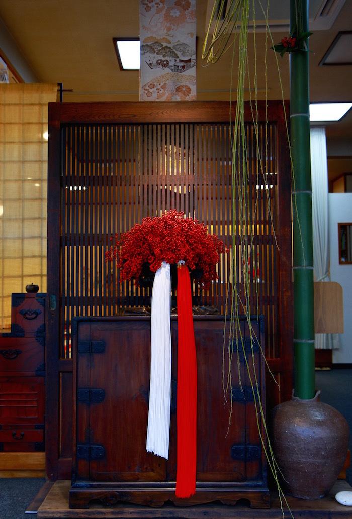 栗﨑 曻流の正月飾り(平成29年度)_d0335577_08431635.jpg