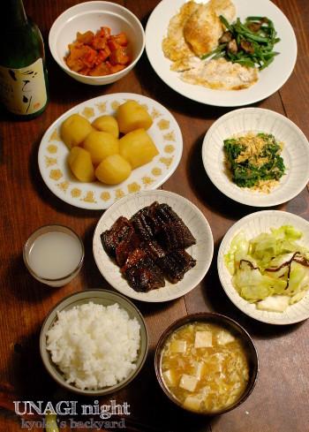 うなぎ佃煮とお茶漬け_b0253205_03394358.jpg