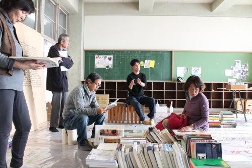 11/22 もりや市民大学 校外授業@オープンスタジオ_a0216706_13211035.jpg