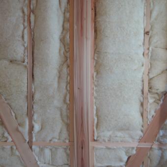 稲田堤の家の外壁はリシンかき落し_c0195909_12265218.jpg