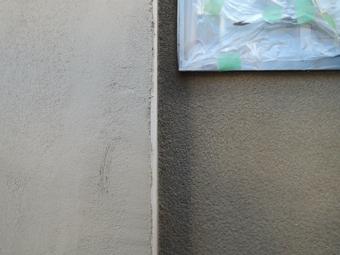 稲田堤の家の外壁はリシンかき落し_c0195909_855731.jpg