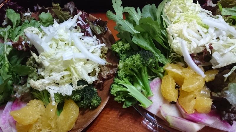 さっきの野菜の、晩御飯_a0125419_22043480.jpg