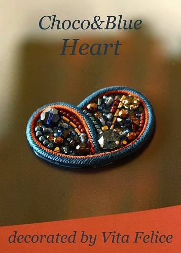 今日も新作☆Choco & Blue Heart☆_b0310144_13121317.jpg