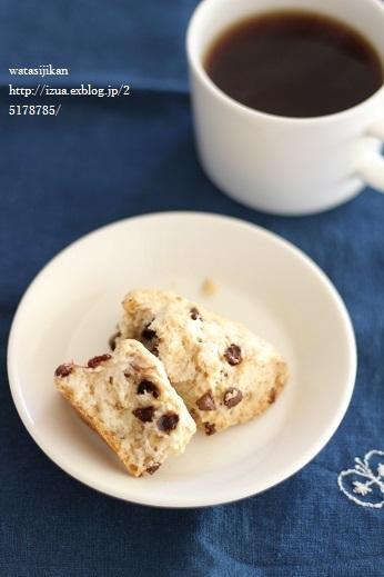 スコーンとバナナケーキを作る_e0214646_1453276.jpg