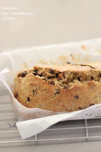 スコーンとバナナケーキを作る_e0214646_1459049.jpg