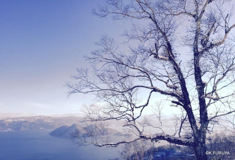 雪の北海道 3 洞爺湖_a0092659_21530541.jpg