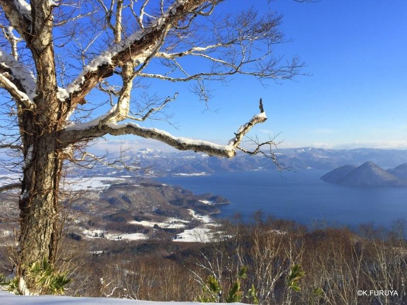 雪の北海道 3 洞爺湖_a0092659_22452065.jpg