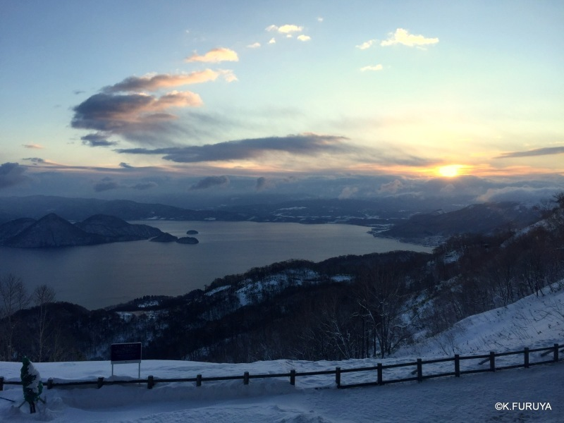 雪の北海道 3 洞爺湖_a0092659_22453327.jpg