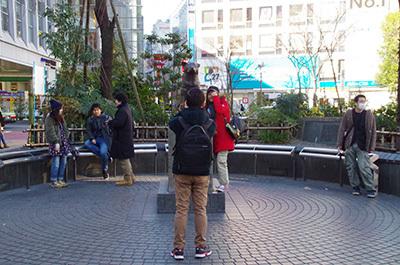 1月17日(火)今日の渋谷109前交差点_b0056983_18462344.jpg