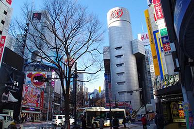 1月17日(火)今日の渋谷109前交差点_b0056983_18462383.jpg