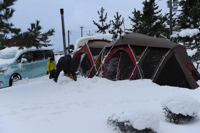 豪雪キャンプ♪ 2_a0049296_196428.jpg