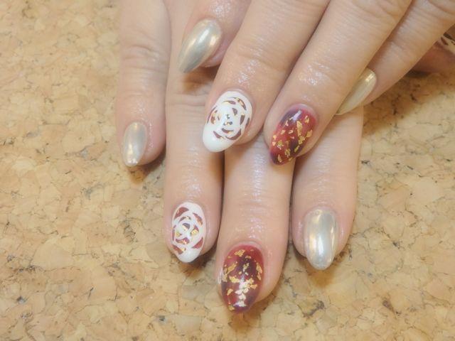 Rose Nail_a0239065_17174957.jpg