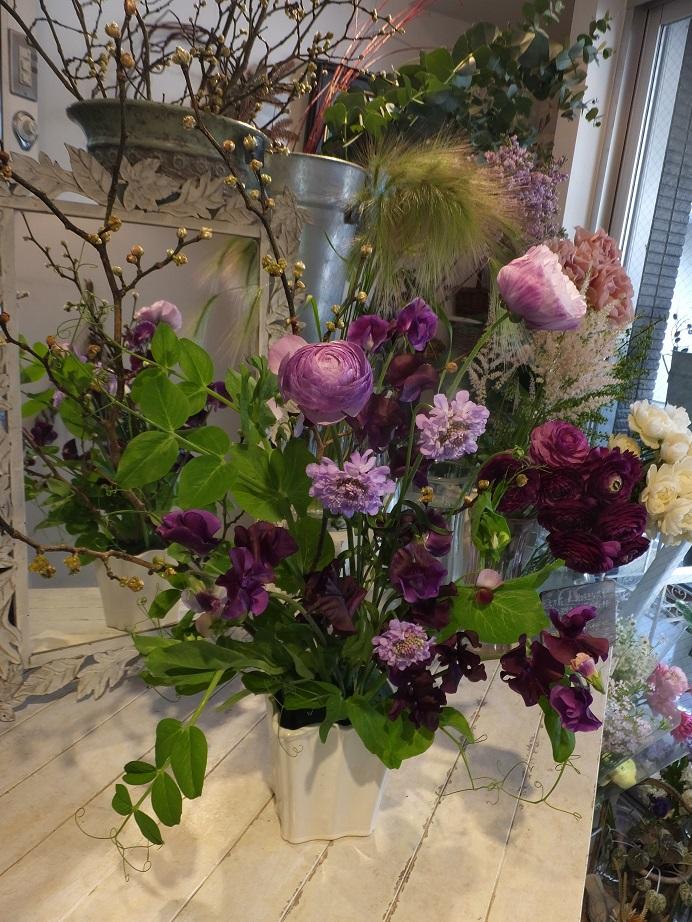 オークリーフ花の教室(甘艸さんと大草さんの作品)_f0049672_18241355.jpg