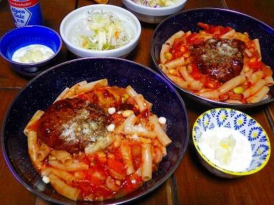 トマト ソース 煮込み ハンバーグ
