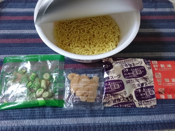 マルちゃん×セブンアイ Jaoanese Soba Noodles 蔦 醤油Soba ¥278_b0042308_21371344.jpg
