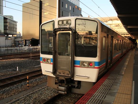 JR四国 6000系 JR岡山駅にて撮り鉄_d0202264_15115148.jpg