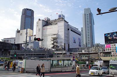 1月19日(木)今日の渋谷109前交差点_b0056983_17243337.jpg