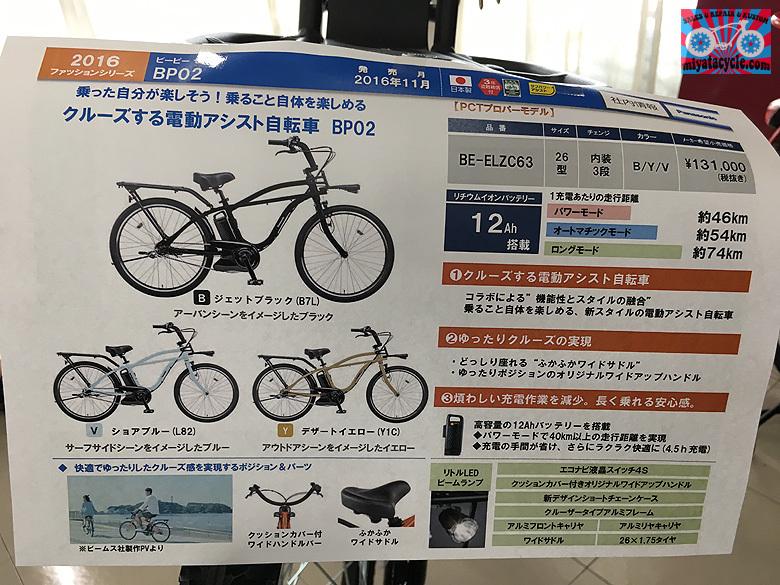2017年 Panasonic 電動アシスト自転車 新車発表会_e0126901_11074364.jpg
