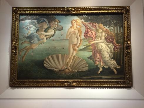 イタリア2017冬ーヴィーナスに恋して ウフィッツィ美術館ー_c0134902_18403285.jpg