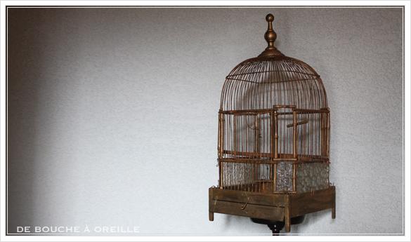 cage à oiseaux 古い鳥かご バードケージ _d0184921_12425920.jpg