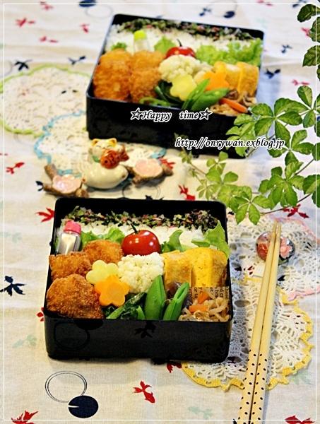 白身魚フライ弁当と~♪_f0348032_17064429.jpg