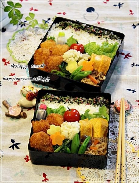 白身魚フライ弁当と~♪_f0348032_17071247.jpg