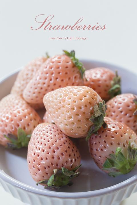 白いイチゴ、淡雪。_d0124248_16294935.jpg