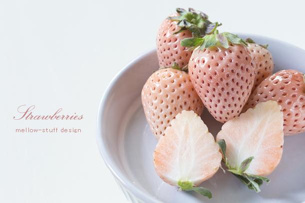 白いイチゴ、淡雪。_d0124248_16300783.jpg