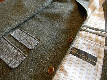 冬に~ツィードのジャケット&ウエストコート~フランネルのジレ&トラウザーズ 編_c0177259_21102979.jpg