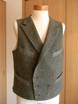 冬に~ツィードのジャケット&ウエストコート~フランネルのジレ&トラウザーズ 編_c0177259_2112961.jpg
